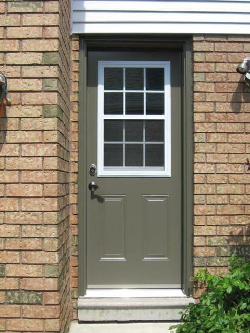 Dorplex Half Lite Venting Steel Door Gnhe 289 362 2644