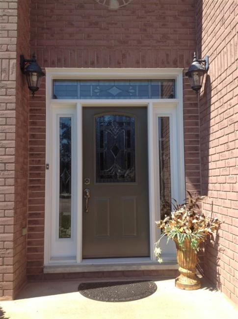 Dorplex Pristine Collection Steel Door And Sidelites With